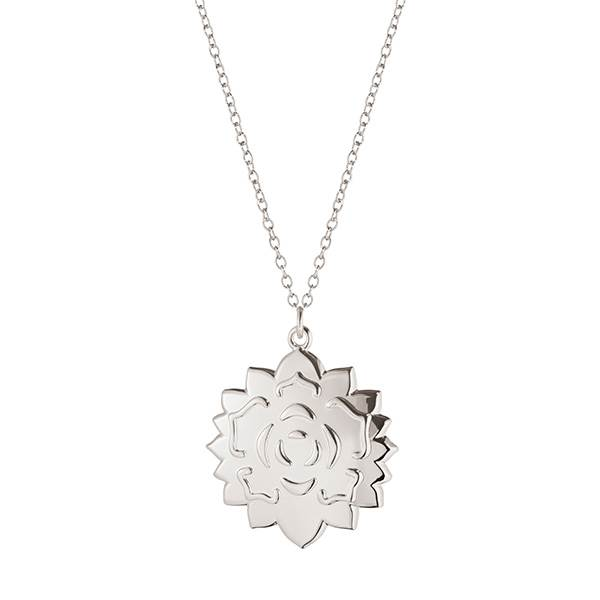Georg Jensen jul 2020 ornament, Rosette - Zinklegering belagt med palladium