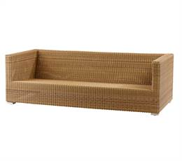 Cane-Line Chester sofa, Natural