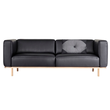 Andersen Furniture A1 sofa - sort læder