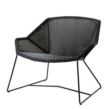 Cane-line Breeze loungestol - sort