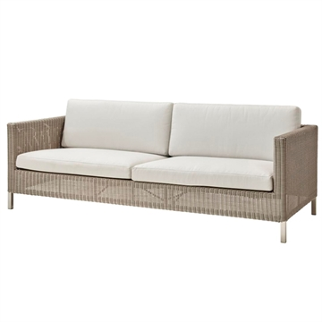 Cane-line Connect 3-pers havesofa - taupe
