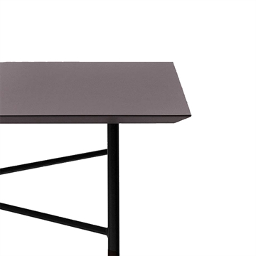 Ferm Living Mingle desk top - 135 cm - linoleum - taupe