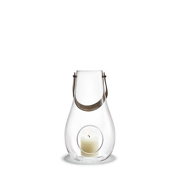 Køb Holmegaard Design with light lanterne, klar – 29 cm