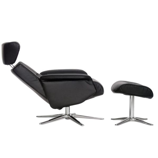 IMG   Lænestol med skammel   Køb lænestole fra IMG her ✓