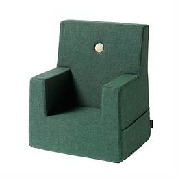 By KlipKlap KK Kids Chair Deep Green w Light Green