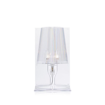 Kartell Take bordlampe - krystal