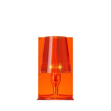 Kartell Take bordlampe - orange