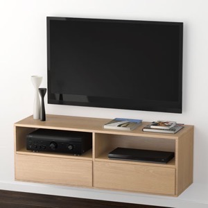 Klim Furniture M220 TV-bord - eg hvidolieret