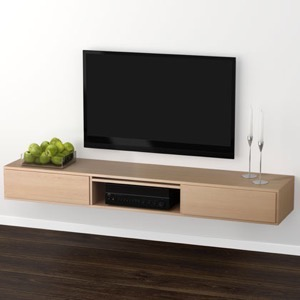 Klim Furniture M330 TV-bord - eg hvidolieret