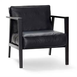 Andersen Furniture LC1 Loungestol - sort - sort læder