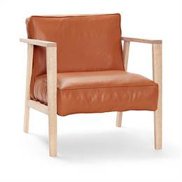 Andersen Furniture LC1 Loungestol - eg og brandy læder