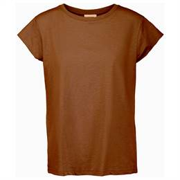 Minus Leti t-shirt - Brown sugar