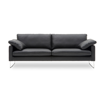 Nielaus Handy 3 pers. sofa - sort læder