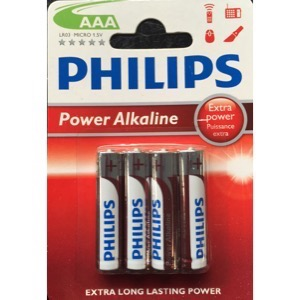 Philips Power Alkaline batteri