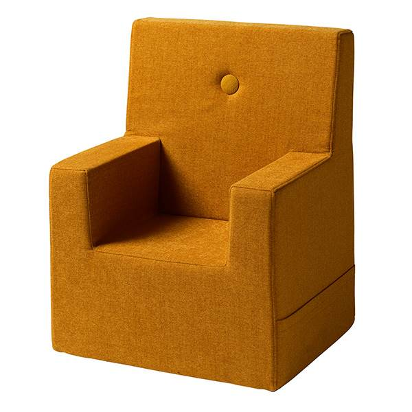 By KlipKlap KK Kids Chair XL Mustard w. mustard