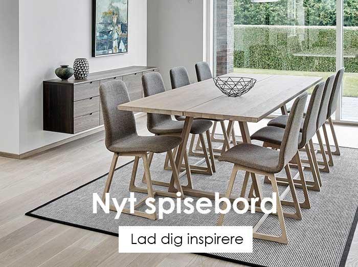 Glimrende Spiseborde | Køb dit nye spisebord her | Gratis levering ✓ HR-99