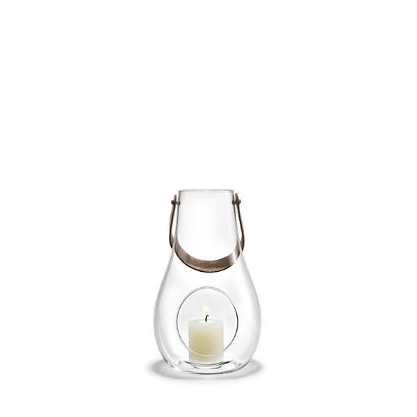 Køb Holmegaard Design with light lanterne, klar – 25 cm