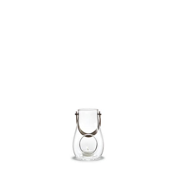 Køb Holmegaard Design with light lanterne, klar – 16 cm