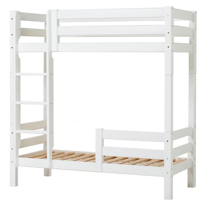 Billede af Hoppekids PREMIUM høj køjeseng med stige og sengehest - 70 x 160 cm