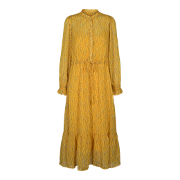 Liberté Ioana shirt-dress yellow