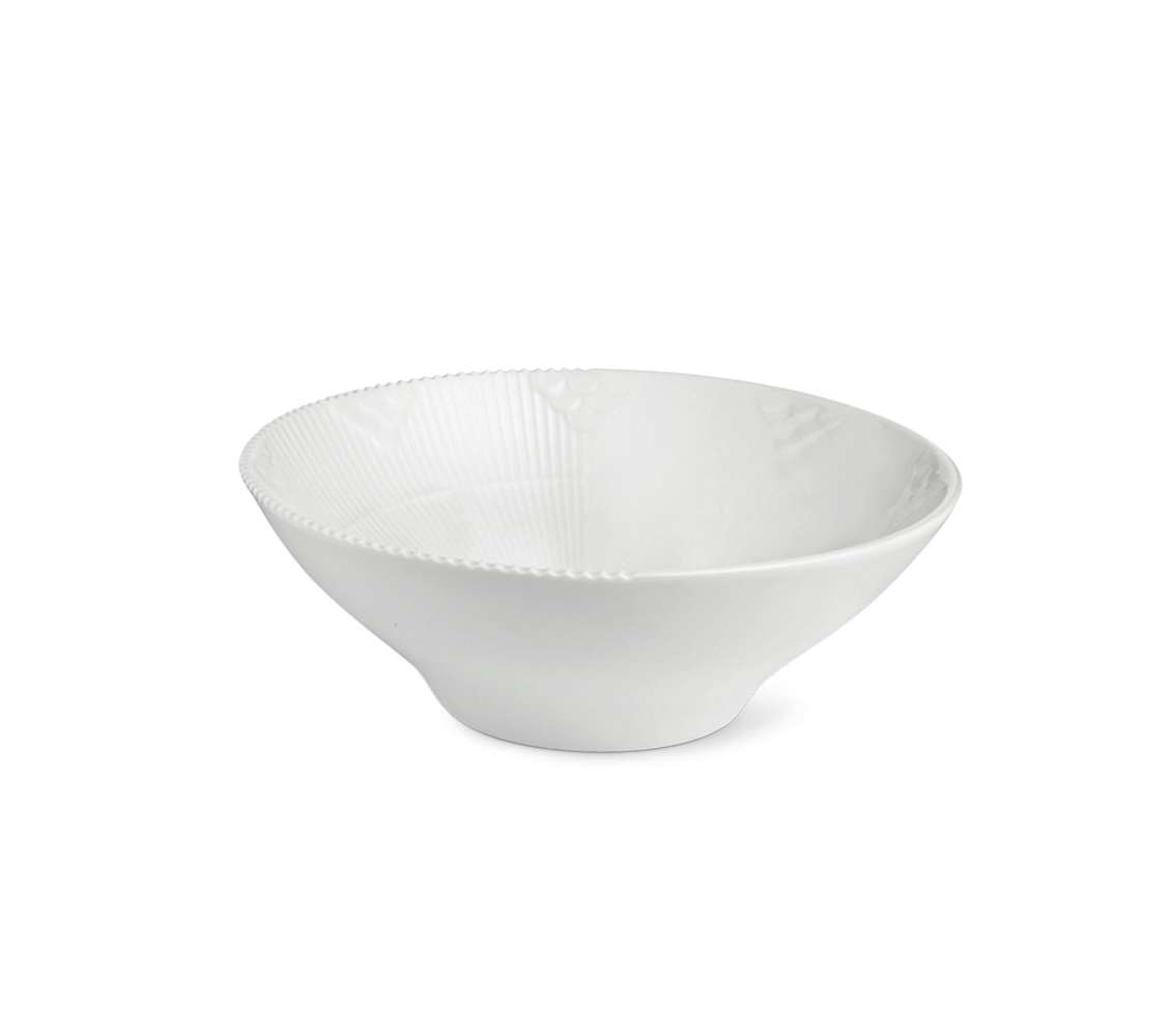 Royal Copenhagen Hvid Elements portionsskål - 78 cl