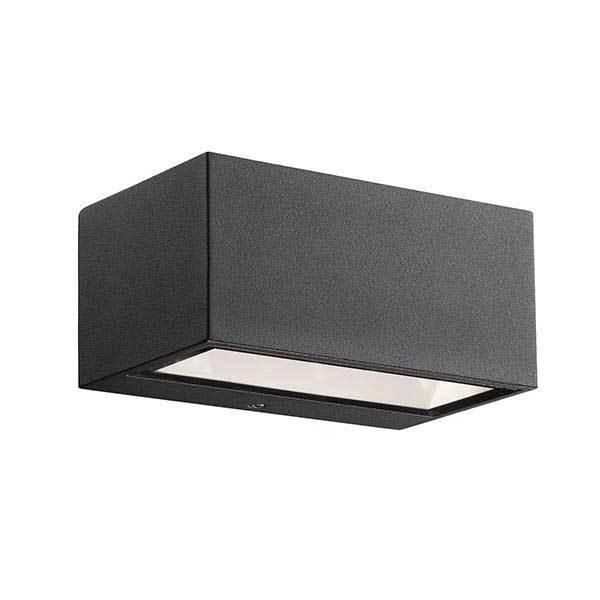 Unik Køb Nordlux Nene udendørs væglampe her! | Sort | Fri fragt ✓ CL36