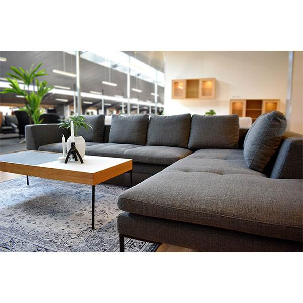Theca Loano Open end sofa - miral grey