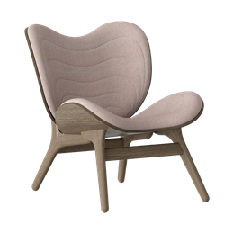 Umage Lounge Chair - Rosé - Mørk eg